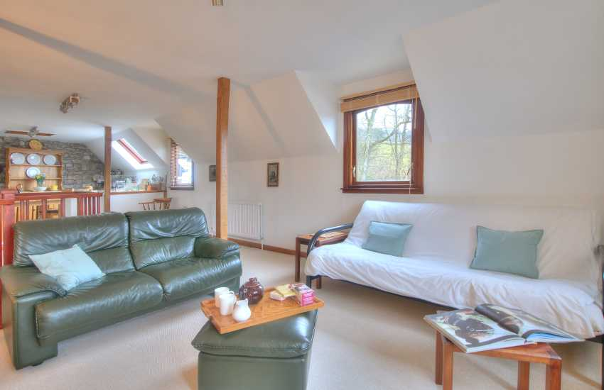 Holiday cottage Crickhowell - lounge