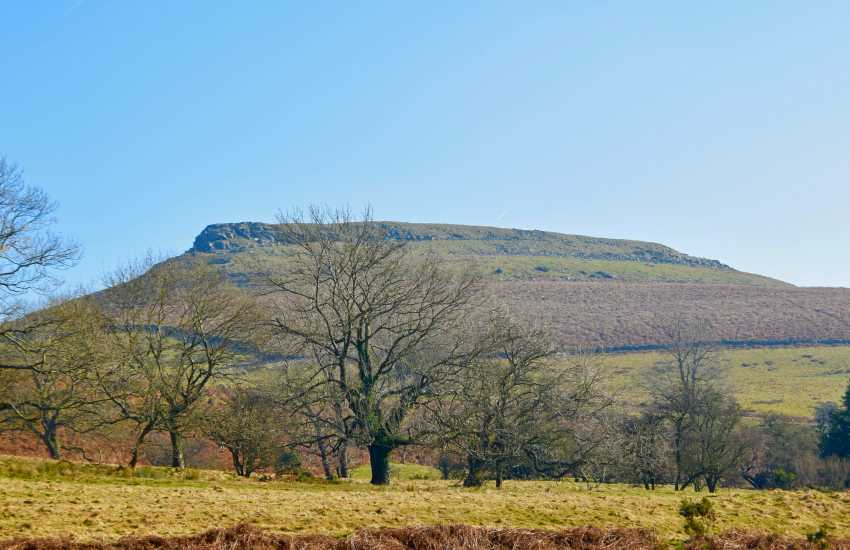 Table Mountain,  an iconic Welsh mountain which makes a glorious walk