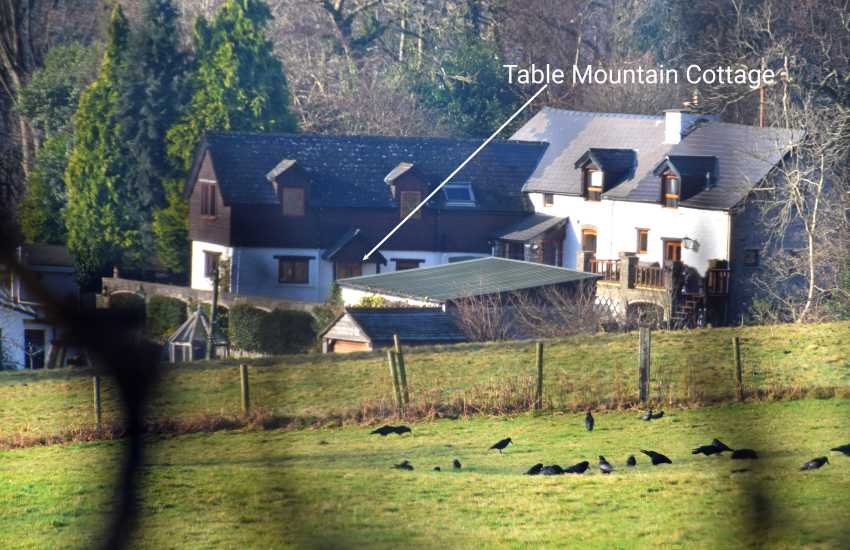 Crickhowell holiday cottage - ext
