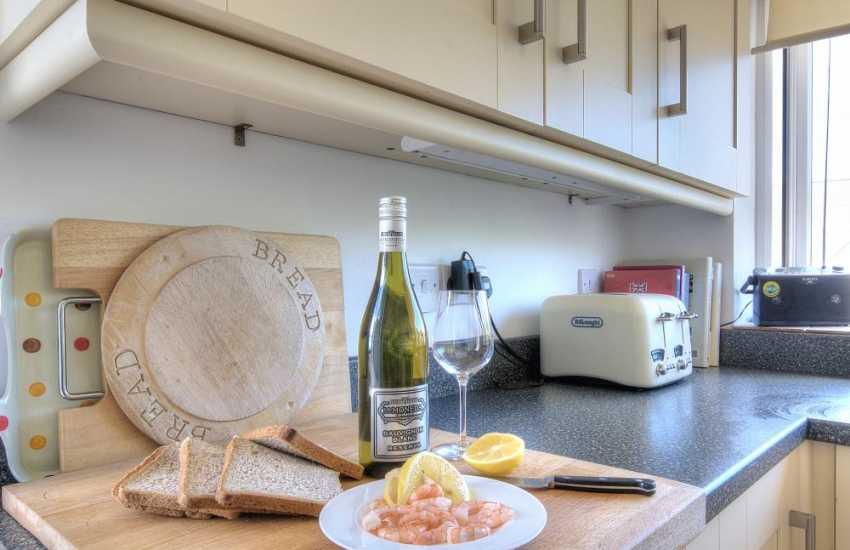 Holiday cottage Morfa nefyn - kitchen
