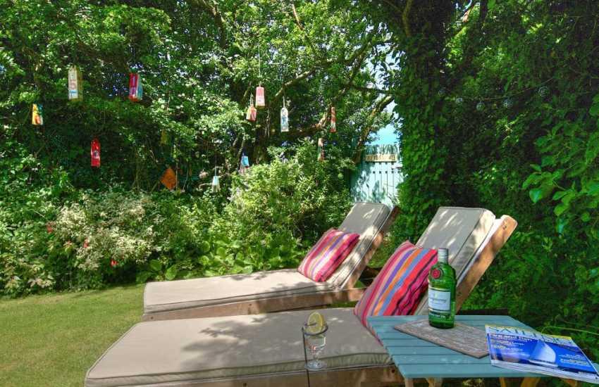 Self catering cottage Morfa nefyn - garden