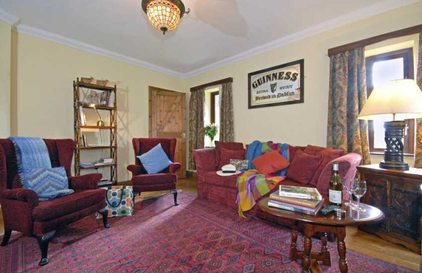 Cardigan Heritage Coast holiday cottage sitting room - dogs welcome