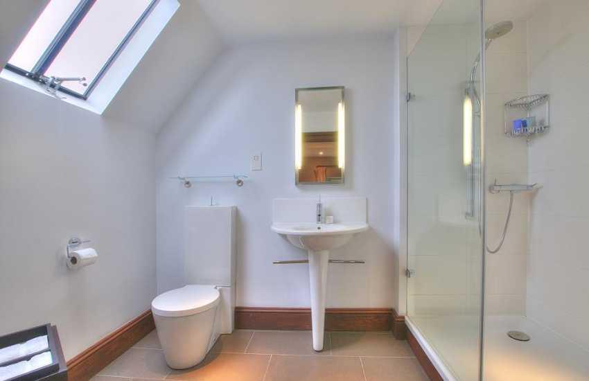 Tree tops shower room