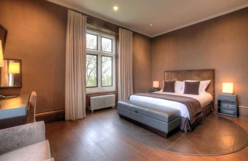 Mountain double bedroom