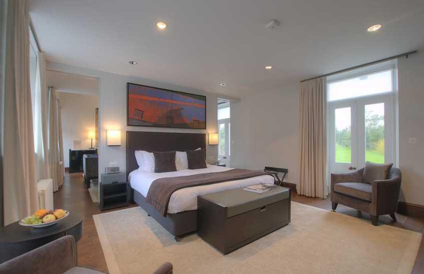 Meadow double bedroom