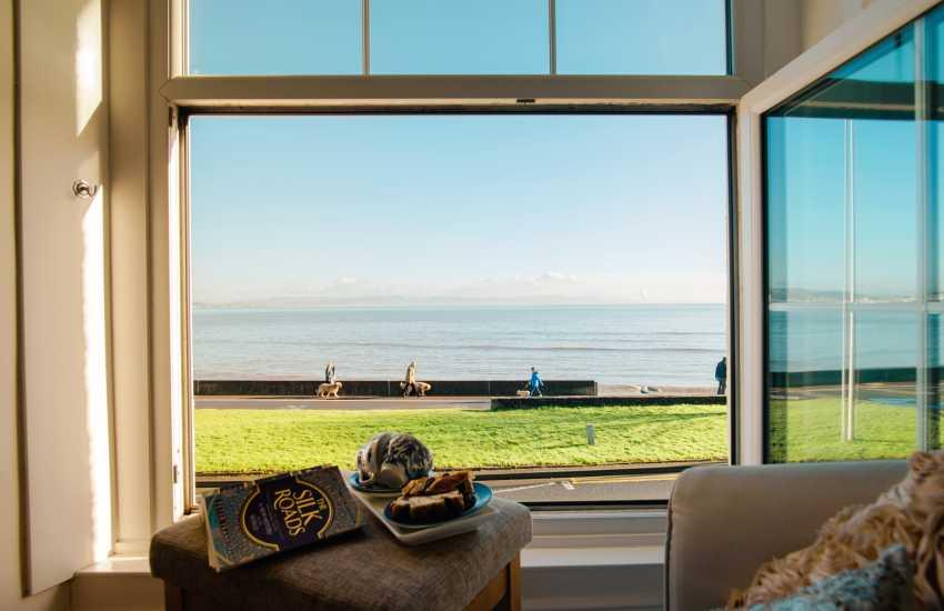 Mumbles holiday home Gower sea views - sleeps 16