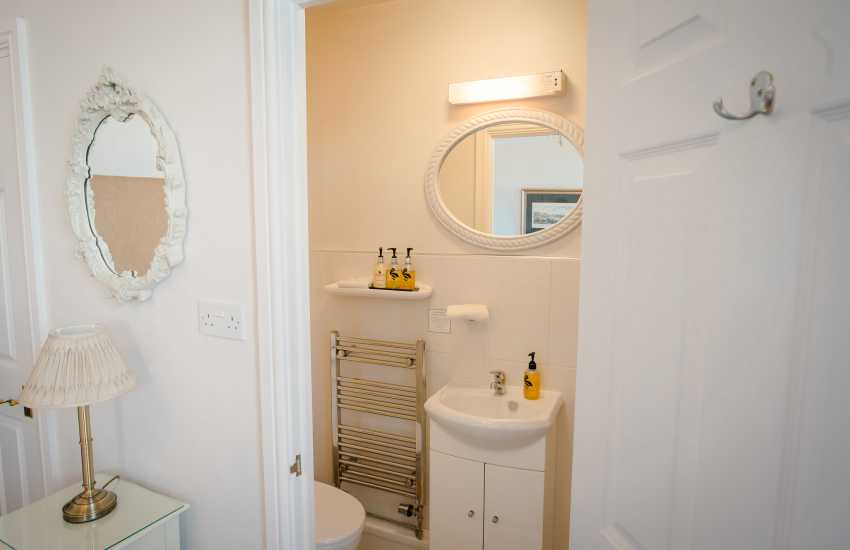 Mumbles pier holiday home - shower room
