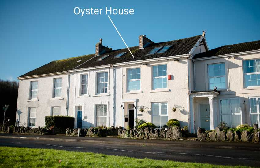 Oyster house Mumbles on the Gower - sleeps16