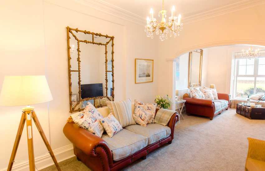 Oystermouth holiday sleeps 16 - lounge