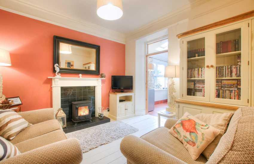 Nefyn Holiday house - sitting room