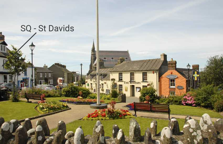 St Davids holiday apartment-location