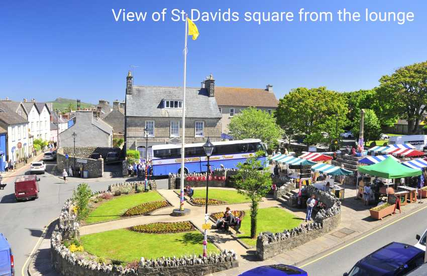 St Davids Square Pembrokeshire for holidays