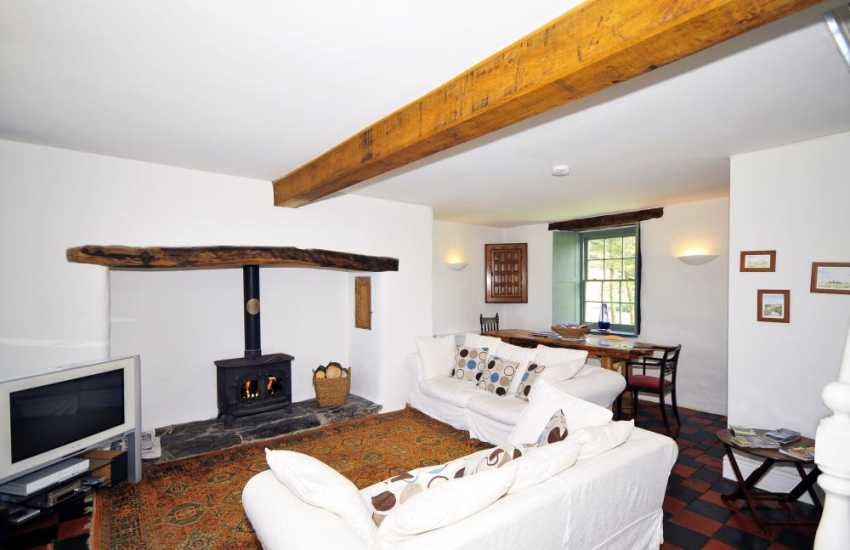 Holiday cottage near Harlech overlooking Cardigan Bay and Snowdonia fabulous views