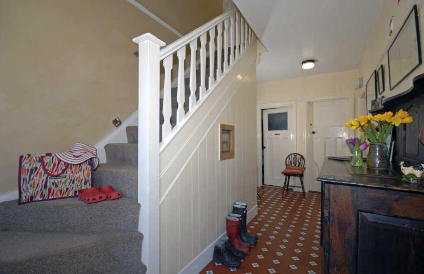 St davids holiday home - entrance hall