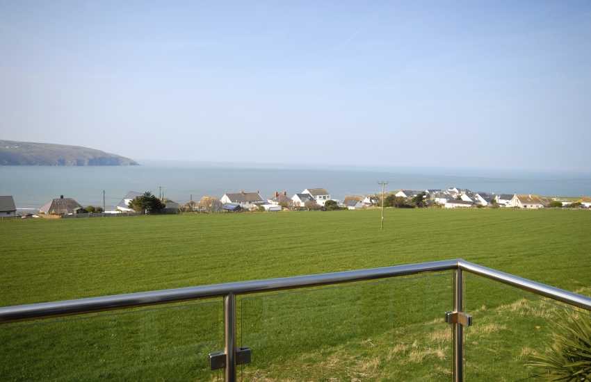 Relax and enjoy coastal views over the Teifi Estuary to Cemaes Head