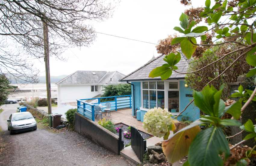 Borth y Gest holiday cottage - ext