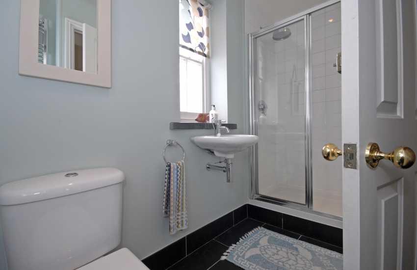 Ground floor double walk in shower room