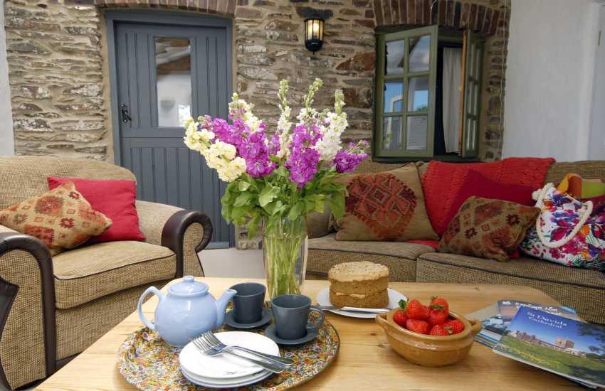 Pembrokeshire holiday cottage - sunroom