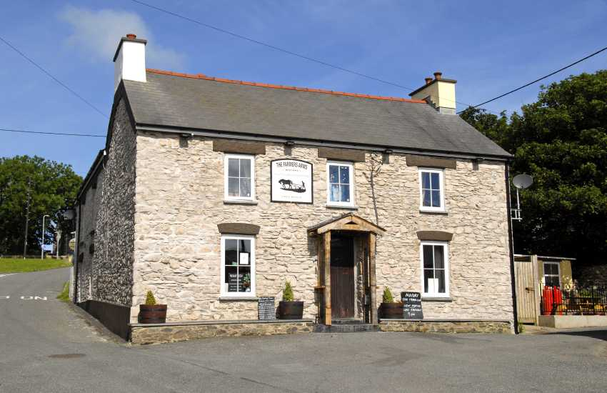 The Farmers Arms, Mathry - a traditional 'locals' pub offering real ales and good bar food