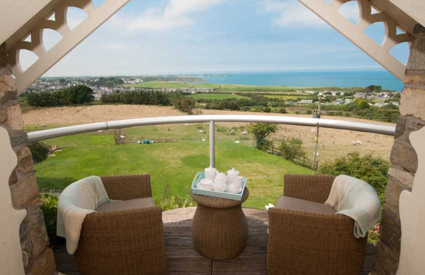 Cottage with hot tub Llyn Peninsula - sea view
