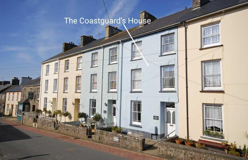 St Davids holiday cottage Pembrokeshire - ext