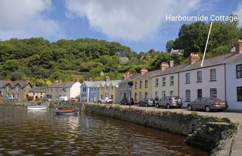 Pembrokeshire holiday cottage with stunning views of the harbour