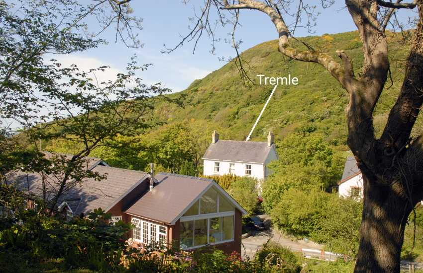 Wales Cardigan Bay Coast holiday house near the beach