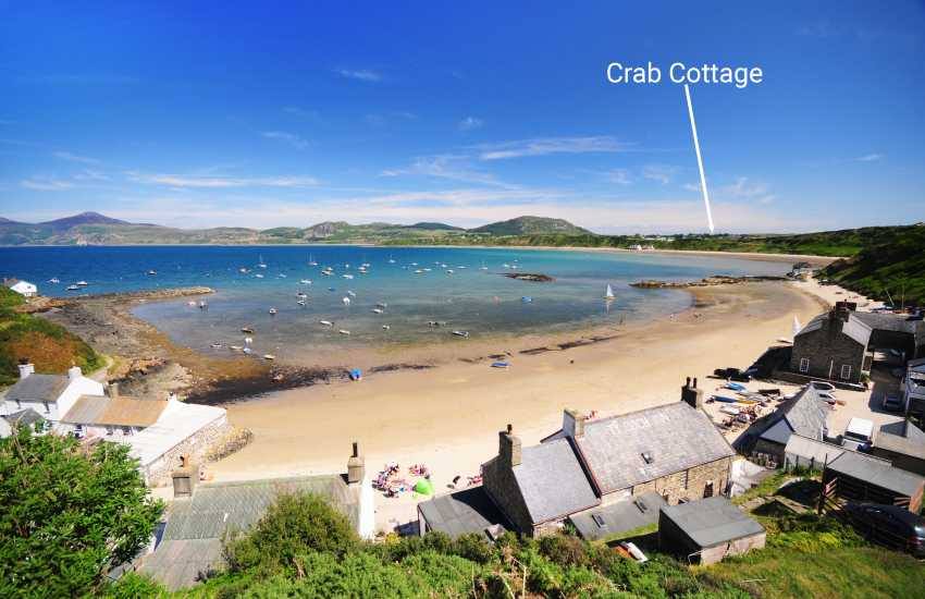Porthdinllaen waterside village (National Trust) a walk along the beach from the cottage