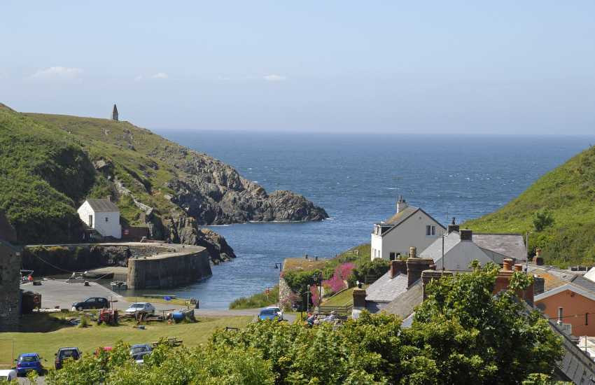 Porthgain - a picturesque fishing village with two galleries, a traditional old fashioned pub and award winning restaurant 'The Shed'