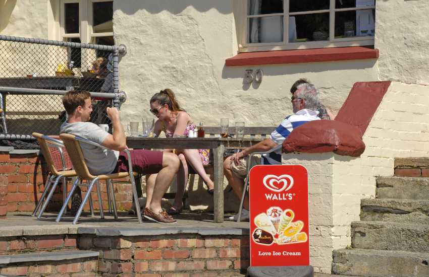 The 'Sloop Inn' at Porthgain is one of the most popular eateries on the North Pembrokeshire coast
