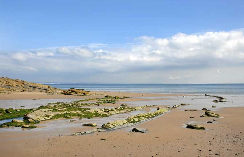 The beach at Waterwynch