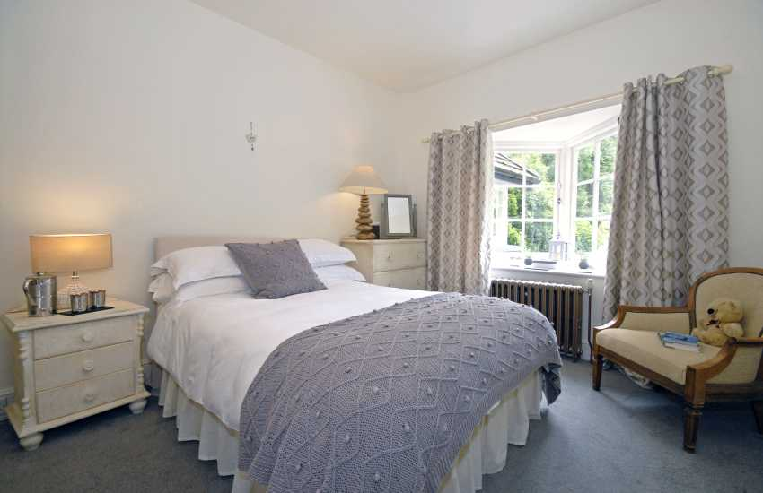 Double with en suite shower and garden views