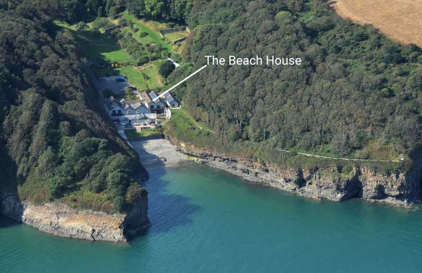 Holiday house on Waterwynch Beach