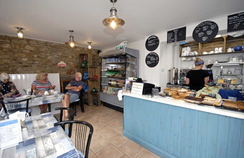 'The Cornerhouse' is a family run cafe situated in the heart of Little Haven