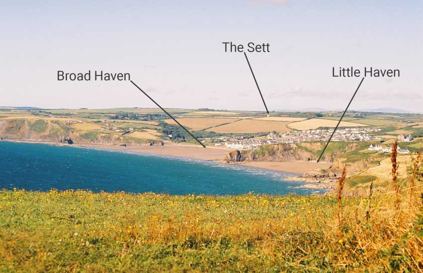 Pembrokeshire cottage location