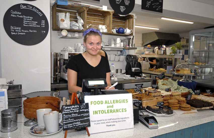 Do visit Cornerhouse Cafe, Little Haven for delicious coffee, cakes and service with a smile!