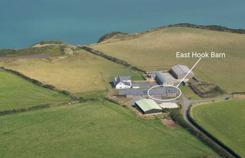Marloes Peninsula luxury restored barn on the Pembrokeshire Coast Path