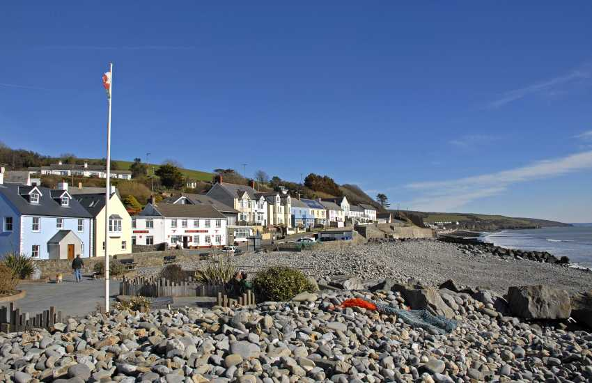 Amroth is a popular seaside village which sits at the start (or end!) of the 186 mile Pembrokeshire Coastal Path