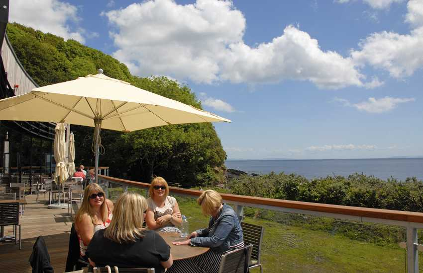 'Coast Restaurant' at Coppet Hall Beach, Saundersfoot - for that special holiday celebration meal