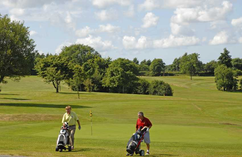 Cwmrhydneuadd Golf Club-enjoy a round of golf on this picturesque 9 hole golf course teeming with wild life