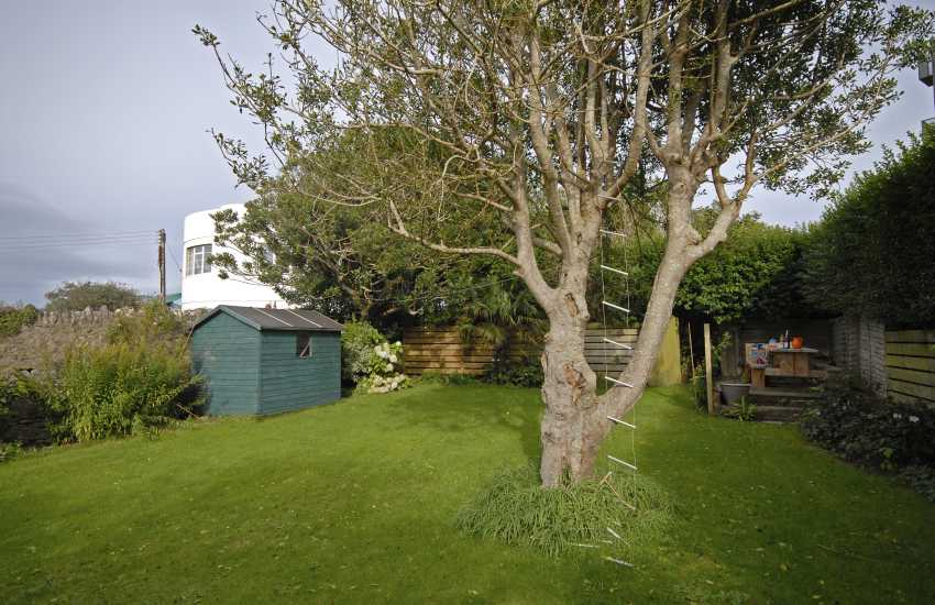Holiday home in St Davids - private sheltered garden