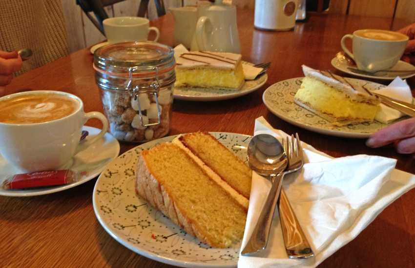 The Bothy Tea Room and Restaurant at Colby Gardens - delicious snacks and mouth watering cream teas!