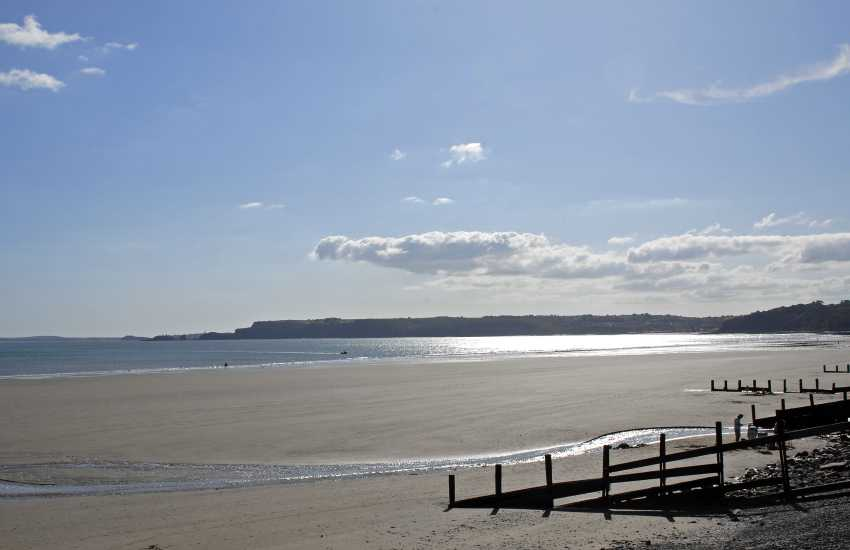 Enjoy Amroth (Blue Flag) and Wisemans Beach during the quieter winter months