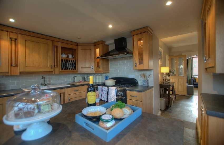 Self catering holiday cottage St Davids-kitchen