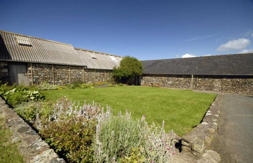 North Pembrokeshire holiday apartment with own garden