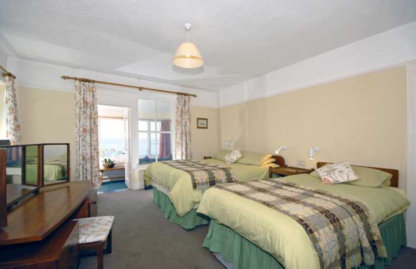 Whitesands Beach holiday cottage - ground floor master bedroom