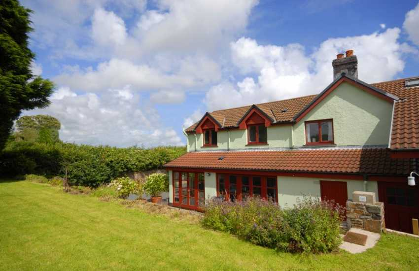 Holiday home near Saundersfoot with magnificent sea views