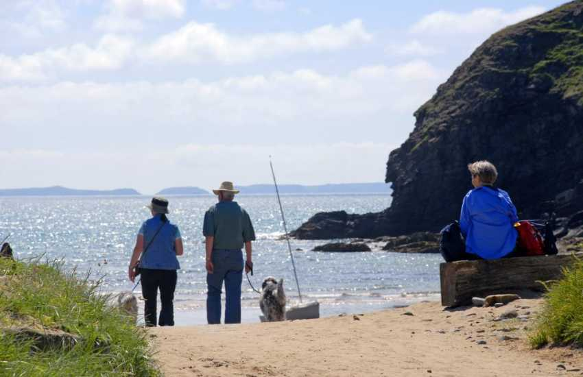 Nolton Haven - just one of the sheltered sandy coves dotted along this glorious part of the Welsh coast