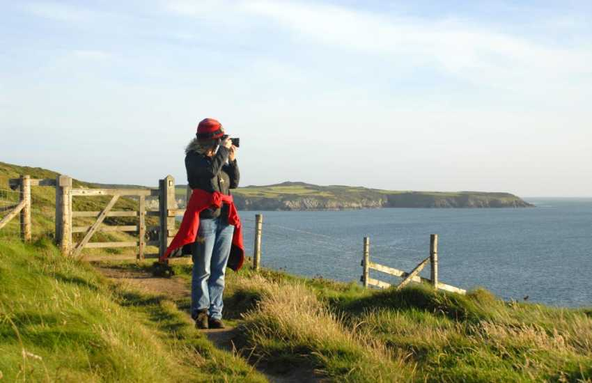 The Pembrokeshire Coast Path is a wonderful place to enjoy stunning views and fresh sea air