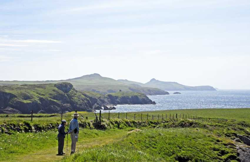 Magnificent unspoilt coastal scenery on The Pembrokeshire Coastal Path